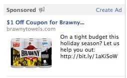 Brawny Ad